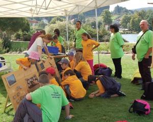 Du 17 au 19 Août, les Petits Débrouillards du Grand-Est investissent les bords du lac de Gérardmer pour un festival placé sous le signe de la culture scientifique pour tous !
