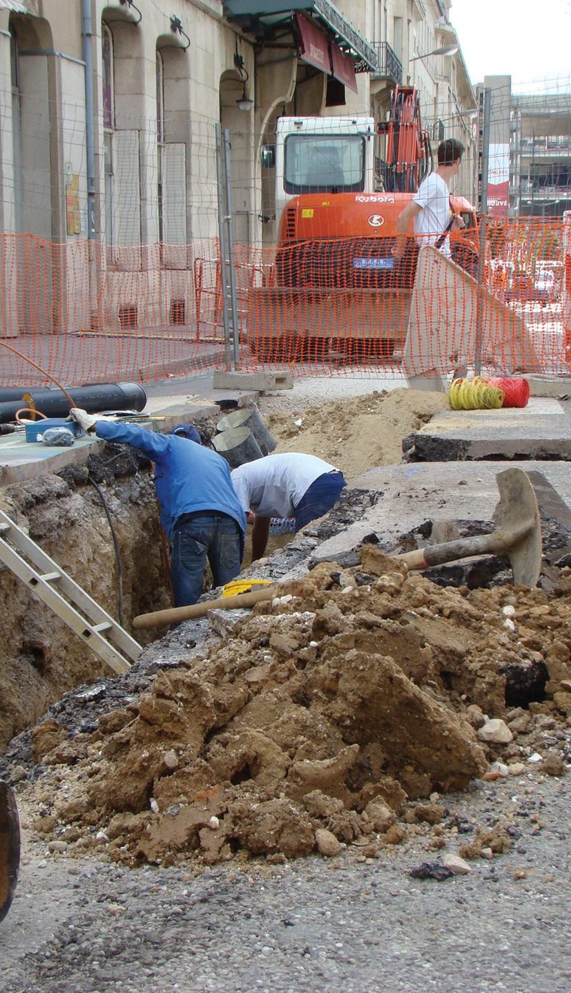 Depuis le 21 mai 2012 et jusque fin septembre, les travaux d'extension du réseau de chauffage de Nancy Centre sont réalisés, pour le raccordement de la faculté de Droit et de l'ensemble Poirel à une chaleur «verte» !