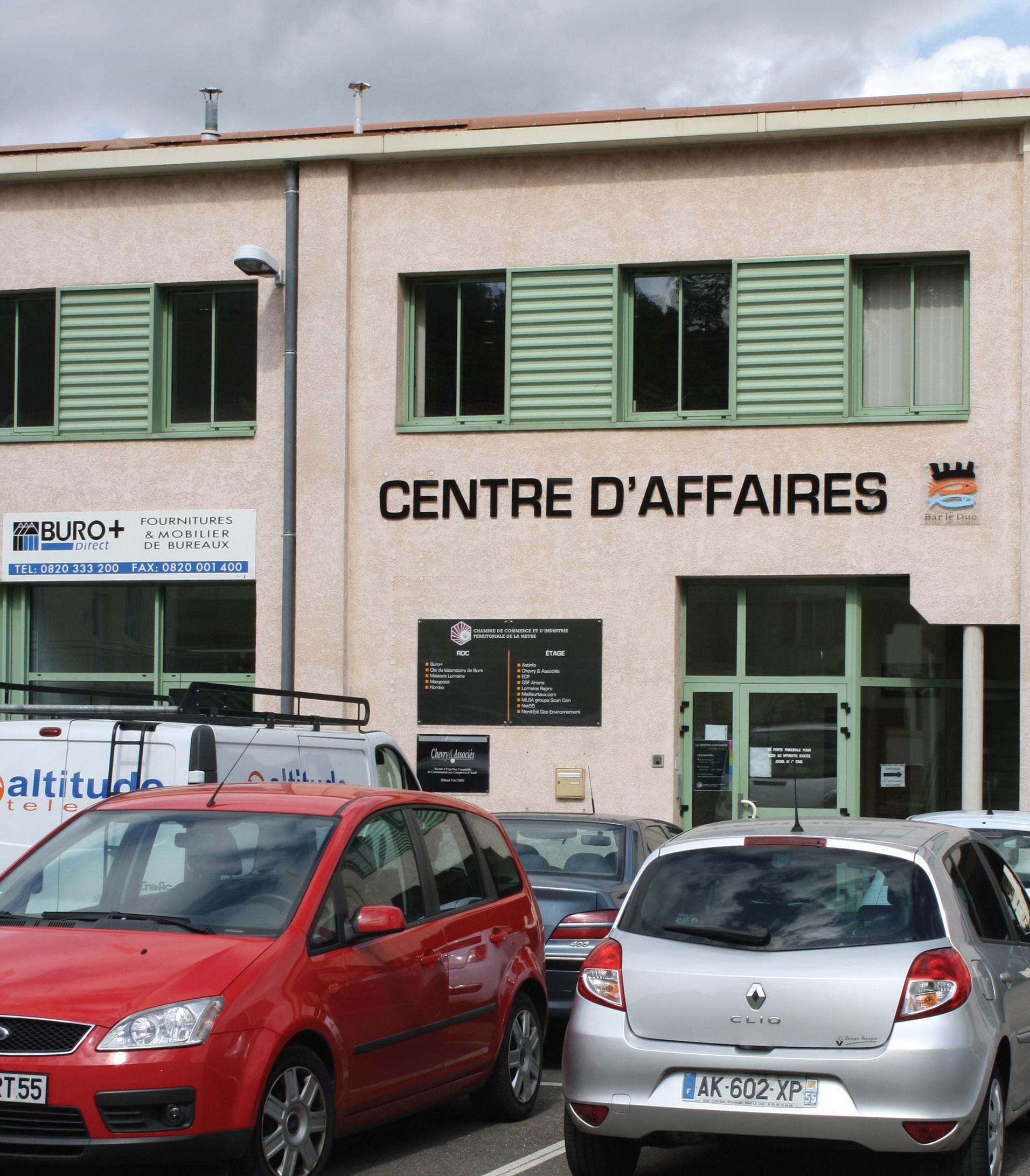 La CCI territoriale de la Meuse gère l'animation du centre des affaires de Bar-le-Duc, depuis quasiment un an.