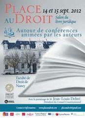 Du 14 au 15 septembre, Place au Droit tient sa première édition à la faculté de Droit de Nancy.