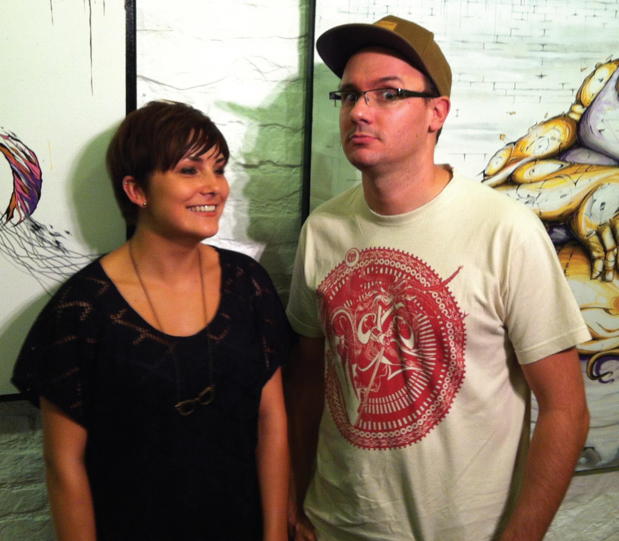 Le duo Missy et Rensone ouvre la saison 2012-2013 de la Galerie Bora-Baden à Nancy.