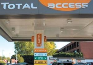 Le groupe pétrolier Total vient d'ouvrir une station Total access sur la départementale 36D à Pagny-sur-Meuse. 600 stations de ce type sont annoncées d'ici à 2014.
