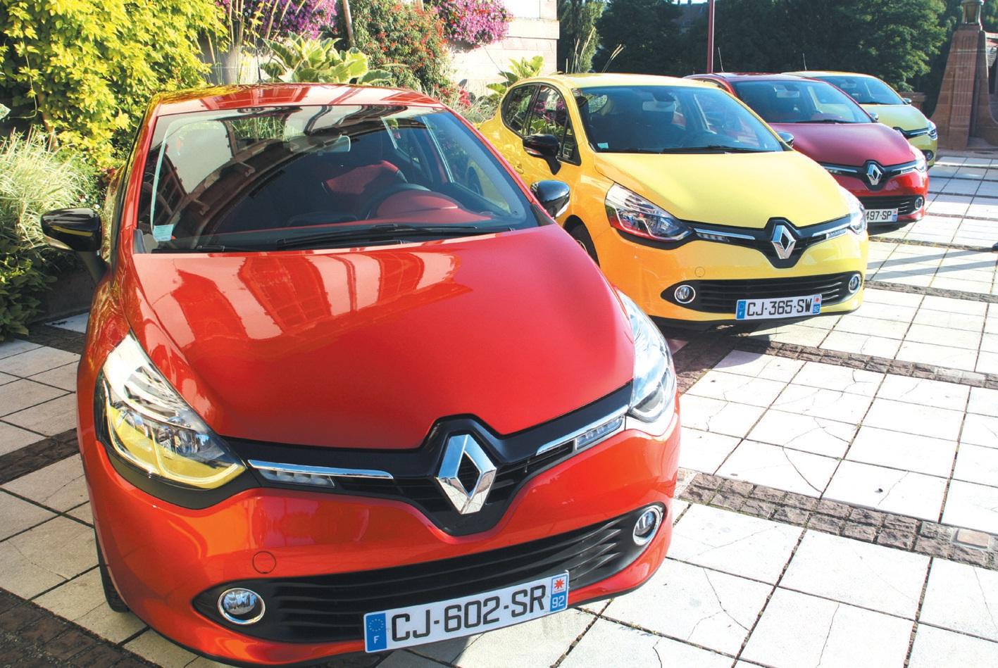 La dernière née de Renault, la Clio 4, était en essais sur les routes lorraines au départ de Baccarat. La marque au losange espère beaucoup de ce nouveau modèle.