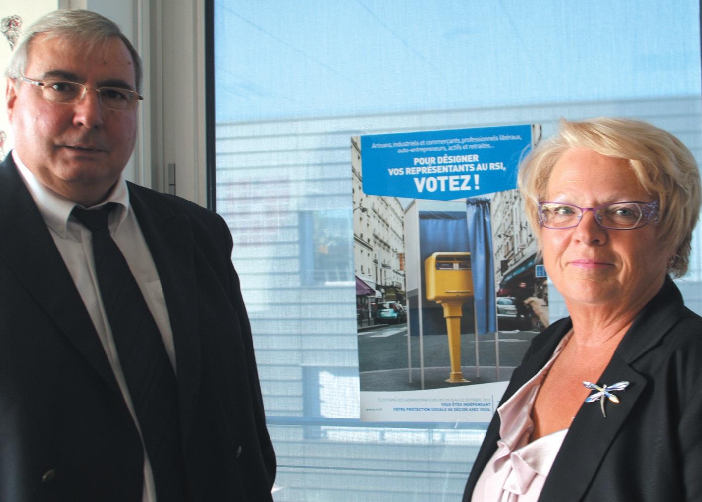 Daniel Bourger, le directeur du RSI Lorraine, et Danielle Jonquard, sa présidente, appellent les indépendants à se mobiliser pour les futures élections annoncées du 8 au 22 octobre prochain.