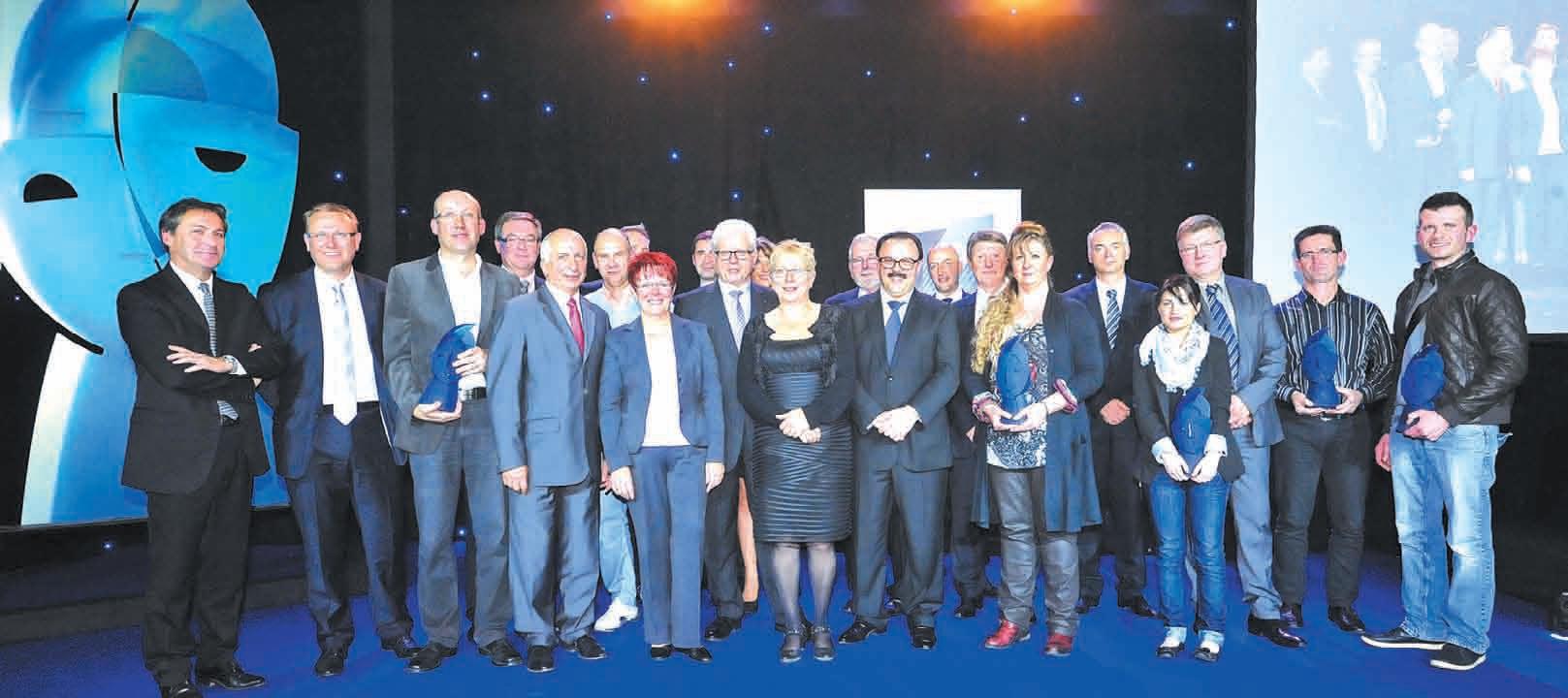 Cinq artisans lorrains viennent d'être mis à l'honneur à Metz le 9 octobre à l'occasion du traditionnel concours Stars et Métiers de la BPLC.