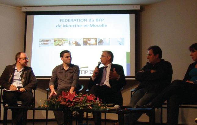 Cinq générations de salariés s'étaient donné rendez-vous à la Fédération du BTP pour échanger sur la communication au sein de l'entreprise.