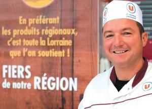Les produits locaux s'affichent comme le coeur de développement du groupe U en Lorraine.