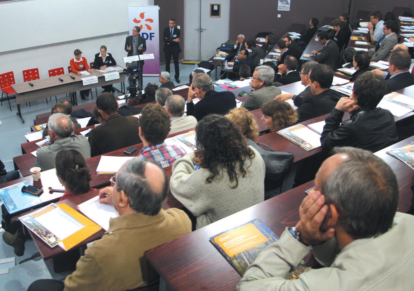 250 personnes ont participé le 26 septembre, à l'Ecole des Mines sur le campus Artem à Nancy, au colloque sur la filière biomasse en Lorraine organisé par EDF.