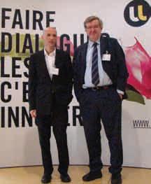 Depuis le 30 Octobre dernier, le Laboratoire international associé est lancé ! Christophe Chipot, chercheur au CNRS et Klaus Schulten du Beckham Institute de l'Université de l'Illinois tous deux porteurs du projet.