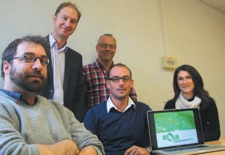 La société Biolie est issue de l'univers de la Recherche. Après avoir été détectée par l'Université de Lorraine et suivie par l'Incubateur Lorrain, l'entreprise est aujourd'hui sur les rails depuis le début de l'année.