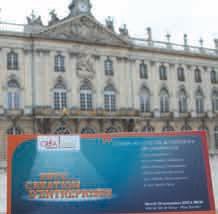 Après le Palais des Congrès nancéien l'an passé, direction l'Hôtel de ville de Nancy pour la neuvième édition de la Fête de la création d'entreprise du réseau Créalliance.