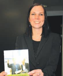 Isaline Fossaert, la chargée de mission Nouvelles Energies de la CCIT 55, a rédigé le 1er annuaire meusien des acteurs de l'efficacité énergétique.