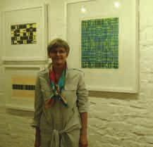 L'artiste allemande Astrid Latz expose ses oeuvres abstraites et colorées à la galerie Bora Baden jusqu'au 29 décembre prochain.