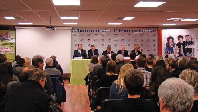 Les mini-entreprises sont de retour : la présentation des 34 participants a eu lieu le 22 novembre dernier à la Maison de l'Entreprise à Maxéville.