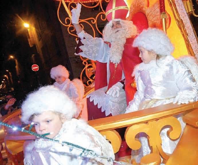 Coup d'envoi des festivités de fin d'année à Nancy, les 1er et 2 décembre avec les fêtes de la Saint-Nicolas.