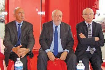 A l'issue de la Conférence métropolitaine du Sillon Lorrain, le 29 novembre dernier à Nancy, Gérard Rongeot, André Rossinot et Dominique Gros, ont plaidé à l'unisson pour un renforcement de la coopération entre les agglomérations lorraines.