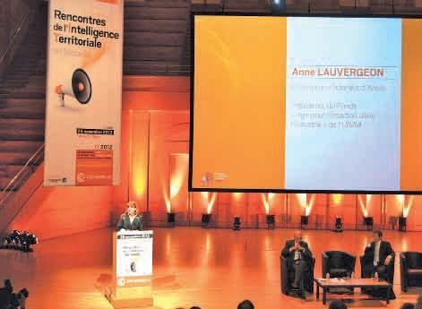 «Il faut une solidarité forte entre tous les acteurs de l'économie. Cela ne se décrète pas. Elle se crée et se relance tous les jours» a souligné Anne Lauvergeon, ancienne présidente d'Areva.