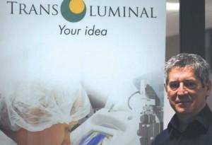 Etienne Malher, le pdg de Transluminal de Pompey, vient de recevoir le Prix Oséo à l'occasion du concours Deloitte Technology Fast 50. L'entreprise affiche 154 % de croissance sur trois ans.