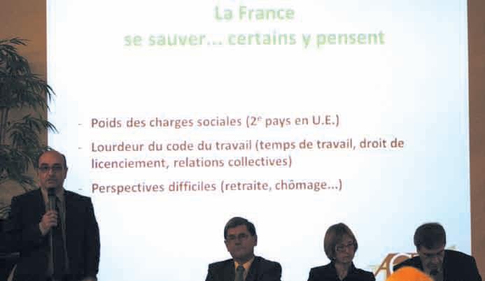 La France la sauver ou se sauver ? Un thème fort et accrocheur pour le colloque régional de l'ACE le 29 novembre à Nancy.