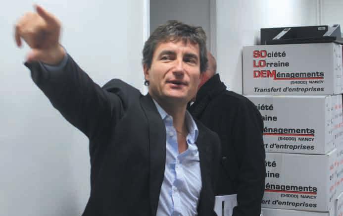 «Les travaux du bâtiment historique rue Stanislas sont indispensables», assure François Pélissier, le président de la CCIT 54 qui vient d'emménager, provisoirement, rue Oberlin à Nancy sur l'ancien site d'Alstom