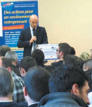 Charles Clausse, le directeur régional de Renault, était l'un des intervenants à l'occasion du débat sur les enjeux des véhicules électriques, le 11 décembre à Maxéville.