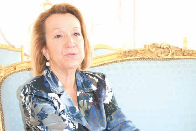 «La Meuse ne doit pas faire face à de gros sinistres d'entreprises mais à un effritement de l'emploi», confie Isabelle Dilhac, la préfète de la Meuse, en poste depuis deux mois.