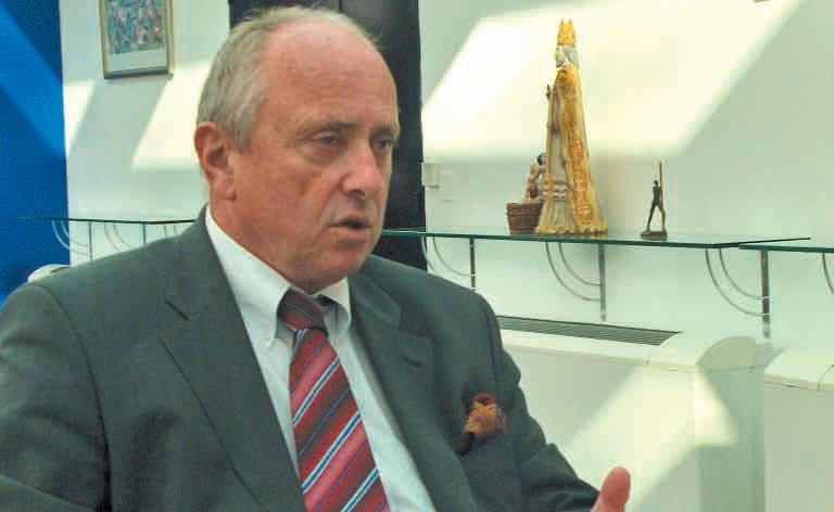 «Le département n'a jamais été interrogé sur les incidences et les conséquences d'Ulcos», regrette Christian Namy, sénateur et président du Conseil général de la Meuse.