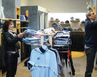 Elégance et qualité tel est le credo de Martine Delattre et Ziane Boumédiene, à la tête de la boutique Ziani Ferraro.