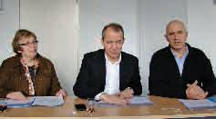 Le 28 janvier dernier, point final d'étape du projet avant l'arrêt prévu le 16 février prochain avec Jean-François Husson le président du SCoT Sud Meurthe-et-Moselle et deux des quatre vice-présidents Rose-Marie Falque et Dominique Potier.