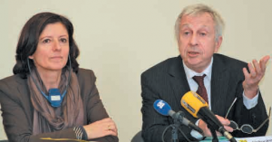 Malu Dreyer, ministre-présidente du Land de Rhénanie-Palatinat vient de prendre la présidence de la Grande Région après de deux ans de gouvernance lorraine avec Jean-Pierre Masseret, président du Conseil régional.