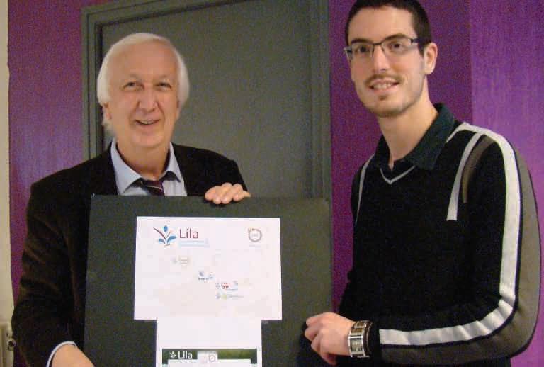 Jacky Chef, directeur de Promotech et Sébastien Leflont, chargé de mission, sont les coordinateurs français du projet européen Lila d'adaptation de produits innovants à l'export.