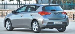 La Toyota Auris 2ème génération part à l'assaut du segment des berlines compactes.