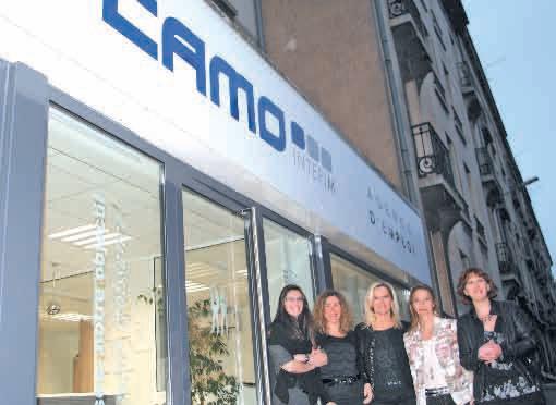 «Le recours à l'intérim permet des ajustements au sein des entreprises. Pour le moment, l'activité est encore bien présente sur l'agglomération nancéienne et cela pour encore environ six mois», assure Lydie Pensalfini (au centre), la nouvelle directrice de l'agence Camo de Nancy.