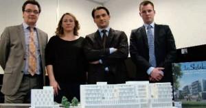 Une année 2012 mitigée, des perspectives 2013 encore floues, l'équipe de BNP Paribas Real Estate Nancy, mise sur «Le Skyline» son projet de bureaux «Eco-performants».