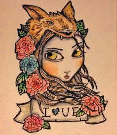 Lady Wolf, une des dernières créations de Madmoizel Rose.