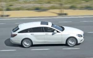 Le Mercedes-Benz CLS Shooting Brake réunit les avantages du break et du coupé quatre portes.