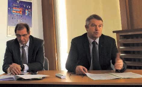 L'Observatoire des entreprises des Vosges vient d'être présenté à la CCIT à Epinal, le 18 février. Il apparaît que le département résiste mieux que la moyenne régionale d'après Gérard Claudel, le président de la CCIT des Vosges.