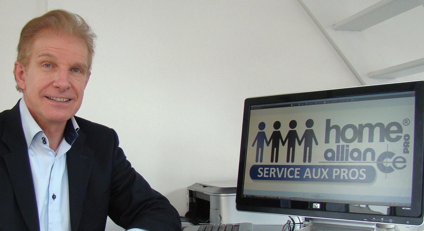 Avec Home Alliance Pro, Pascal Dreneri, élargit ses services aux PMEet TPE.