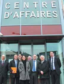 Une délégation du CESE de Lorraine, emmenée par son président Roger Cayzelle, s'est rendue à Epinal, histoire de montrer tout son intérêt au développement économique du département.