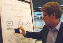 La NFC ou le mobile sans-contact, une innovation présentée par Orange le 14 mars dernier à Nancy et à laquelle, Pierre-Etienne Badoz, directeur Orange Grand-Est croit tout particulièrement.