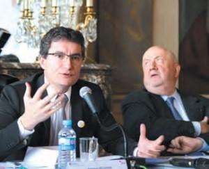 «Ce sont les contributions et les propositions des chefs d'entreprises qui permettront de sortir de cette crise structurelle», assure François Pélissier, le président de la CCIT 54 à l'occasion de la présentation du forum «Economic Ideas» du 3 mai à Nancy.