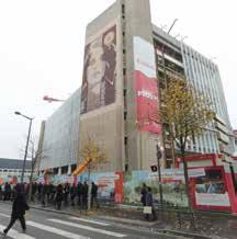 Fin du gros oeuvre annoncée mi-avril avec une mise en exploitation prévue au printemps 2014 pour le Centre Prouvé.