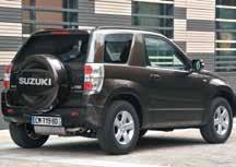Les 4x4 Suzuki offrent une stabilité et un confort remarquables sur routes.