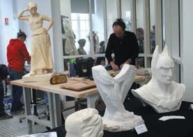 Comme un peu partout en Lorraine, le château de Lunéville a accueilli l'édition 2013 des Journées européennes des métiers d'art.