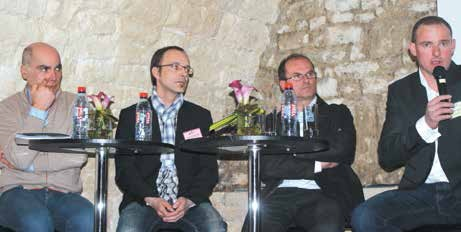 «Pierre et Habitat», les carrières de Savonnières, ITP et la Graniterie d'Abainville étaient sous les projecteurs de la 10ème édition du Business Contacts meusien.