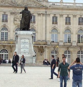 Avec l'arrivée des beaux jours, les touristes affluent en nombre à Nancy attirés par une offre ciblée mise en place par Nancy Tourisme.