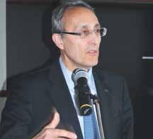 Bernard Bigot, l'administrateur général du CEA a annoncé l'avancé du projet «Syndiese».