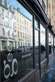 À quelques encablures de la Place Stanislas, le nouveau «Georges» attire le midi une clientèle d'actifs travaillant à proximité.