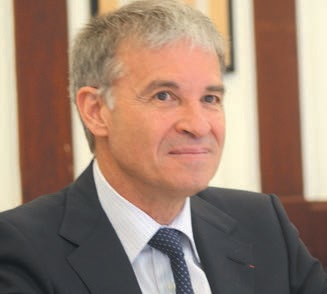 Patrick Bernasconi, candidat à la présidence du Medef national, est passé par Nancy le 3 mai à l'occasion du forum Economic Ideas.