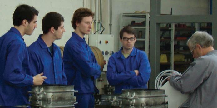 L'Ensam de Metz propose à ses étudiants un cursus alliant la recherche académique et le partenariat avec les entreprises.